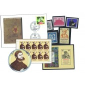 "Briefmarken- und Beleg-Set ""Martin Luther"""